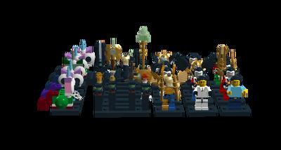 King Azolthi's wardrobe and armory (The Lego Movie)
