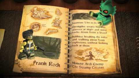 "LEGO Monster Fighters - ""Frank Rock"""