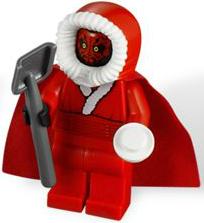 Lego Star Wars DARTH MAUL SANTA MINIFIGURE #9509