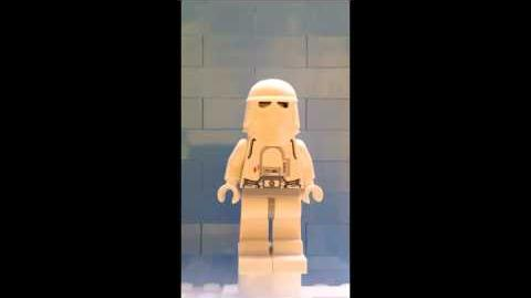 Snowtrooper from LEGO 9509 Star Wars Advent Calendar Day 15