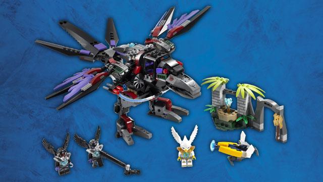 70012 l 39 attaque condor de razar wiki lego fandom - Lego chima saison 2 ...