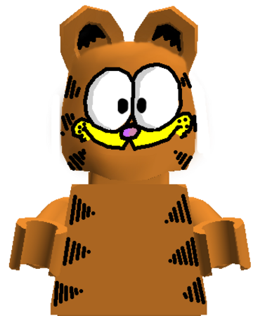 Custom Garfield Brickipedia Fandom