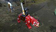 LEGO Thorin on a Warg