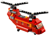 31003 L'hélicoptère bi-rotors