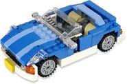 Blue Roadster