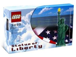 3450-Statue of Liberty Sculpture Box
