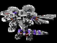70725 L'attaque du dragon Nindroïde 5