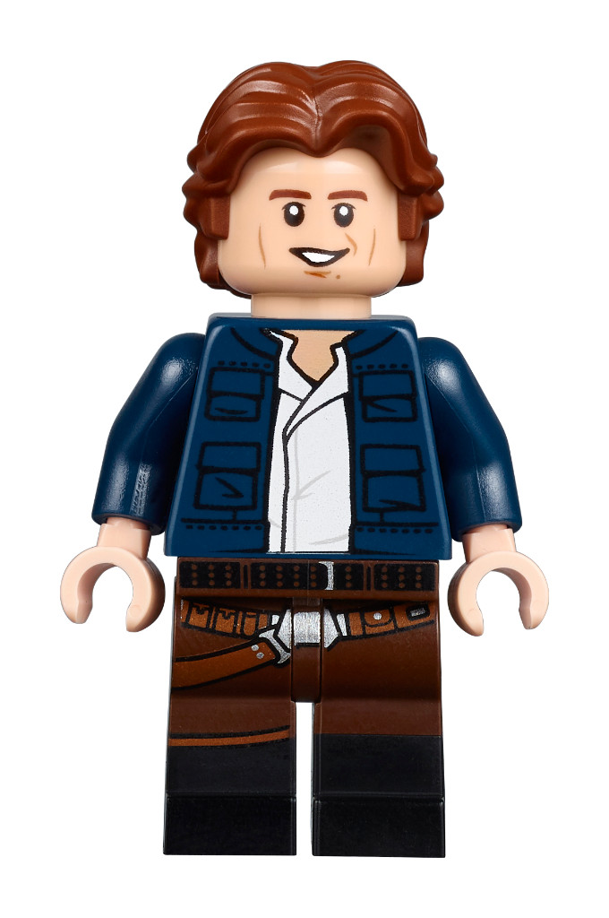 LEGO® Minifigure Han Solo Minifig Star Wars Brand New Split from Set 75209