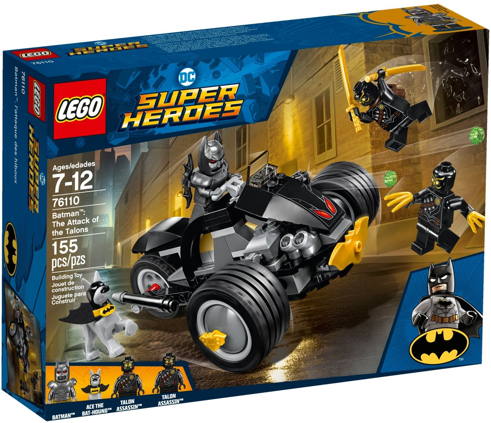 Heavy Armor Minifigure NEW DC Superhero 76110 Mini Figure LEGO Batman