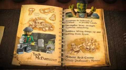 LEGO Monster Fighters - Jack McHammer