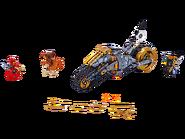 70672 La moto tout-terrain de Cole