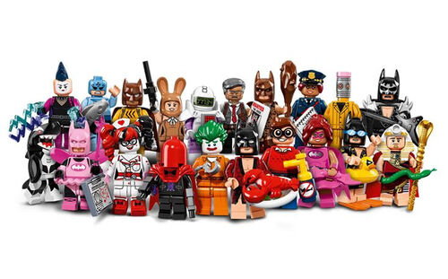 71017 Minifigures Série LEGO Batman, Le Film