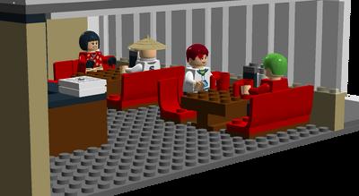 Coffee Corner seats