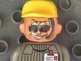 Action Wheeler Crew Dark Gray Top