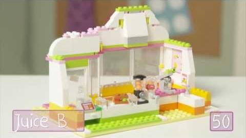 LEGO Building with Friends - Heartlake Juice Bar Quick Build