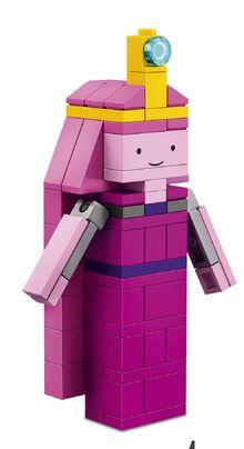 Princess Bubblegum-brickbuilt