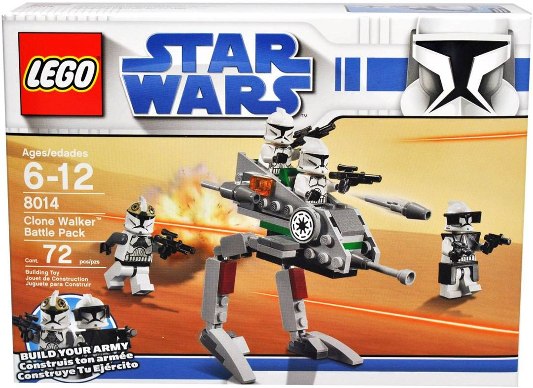 8014 Clone Walker Battle Pack Brickipedia Fandom Powered By Wikia