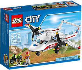 File:LEGO City Ambulance Plane.png