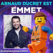 Vignette LEGO Movie 2 Arnaud Ducret