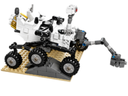 21104 Rover Curiosity du laboratoire scientifique pour Mars de la NASA 2