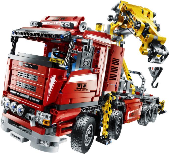 8258 Crane Truck Brickipedia Fandom Powered By Wikia