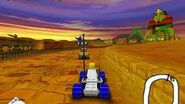 LEGO Rocket Racers gameplay on Windows (Legoland Windsor Game)