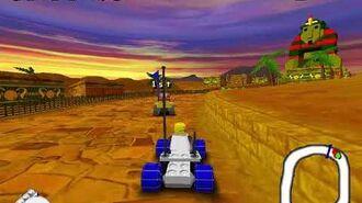 LEGO Rocket Racers gameplay on Windows (Legoland Windsor Game)