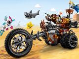 70834 Le tricycle motorisé en métal de Barbe d'Acier !