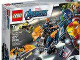 76143 Avengers Truck Takedown