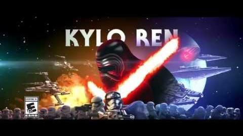 Kylo Ren - LEGO Star Wars - The Force Awakens Character Spot