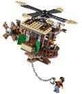 Windmühle und Feuerwehr-Roboter Verstärkung 70813 6
