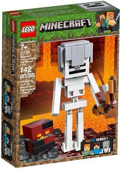 21150 Skeleton BigFig with Magma Cube Box