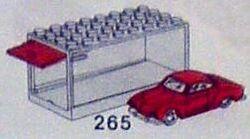 265 Karmann Ghia with Garage