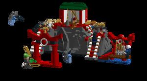 5748 Battle of Ninja temple action