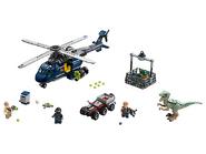 75928 La poursuite en hélicoptère de Blue