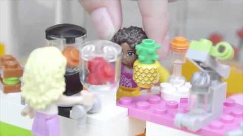 LEGO Building with Friends - Heartlake Juice Bar Promo
