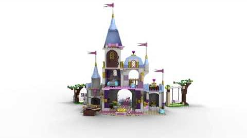 Lego Disney Princess 41055 Cinderella's Romantic Castle Lego 3D Review
