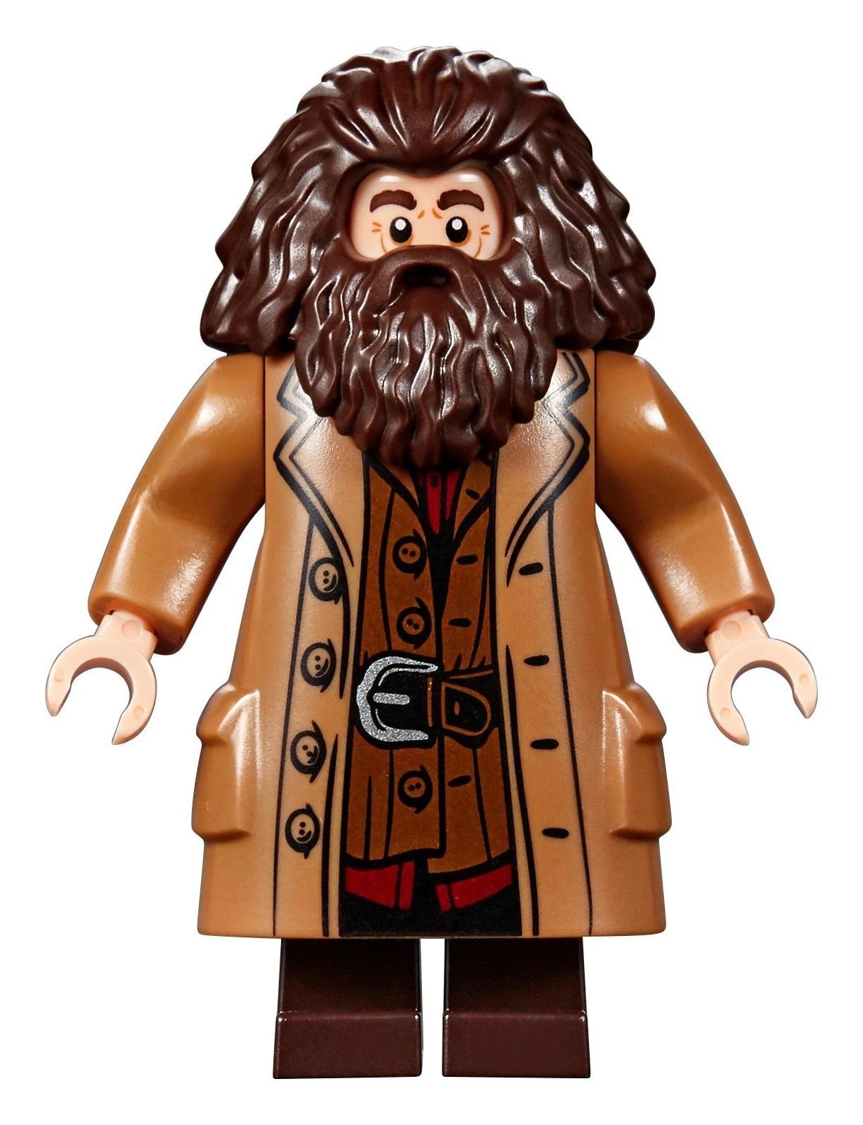 Lego Marcus Flint Head Hair piece for Harry Potter Minifigures BRAND NEW