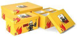 SD655yellow Storage Boxes Modular Fire Yellow