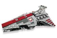 Venator Class Republic Attack Cruiser 1