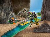 75938 La bataille du T. rex contre le Dino-Mech