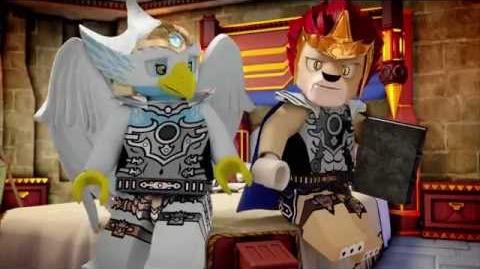 LEGO CHIMA - Le lion volant