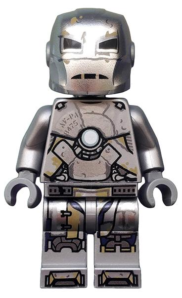 LEGO Hero Figur IRON MAN Stark Tower Industries Avengers 1