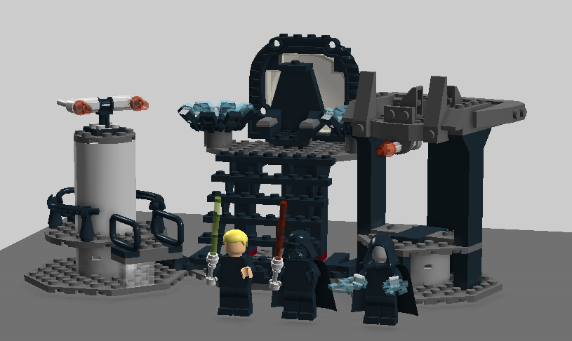 Image - Luke VS. Vader.png | Brickipedia | FANDOM powered by Wikia