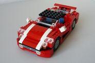 Roter Sportwagen 5867 2