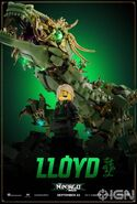 The LEGO Ninjago Movie Poster Lloyd Ign