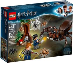75950 Aragog in the Forbidden Forest Box