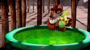 Crug piscine-Des larmes de Crocodiles