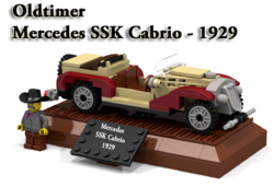 Mercedes SSK Cabrio 1929 - Cover