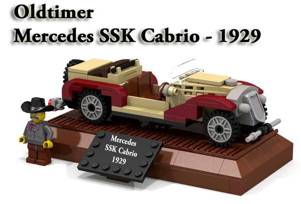 Mercedes SSK Cabrio 1929 - Cover